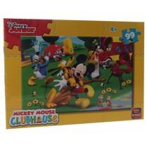 legpuzzel Disney Mickey Mouse Clubhouse 99 stukjes