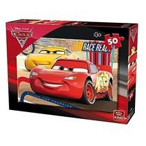 legpuzzel Disney Cars Race Ready 50 stukjes
