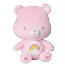 knuffelbeertje rammelaar pluche meisjes roze 16 cm