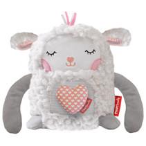 knuffel Mijn Vertrouwde Geur junior pluche wit/roze