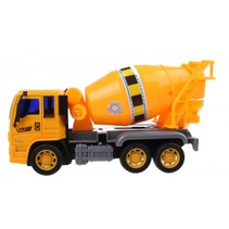 cementwagen 21,5 x 10 x 14 cm geel