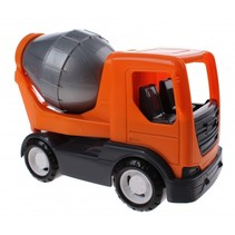 speelgoed Betonwagen oranje 26 cm