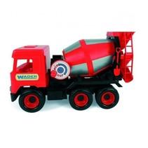 speelgoed Betonwagen rood 43 cm