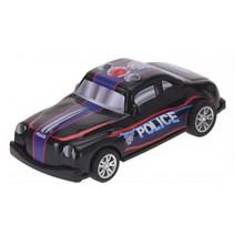 politieauto 10 cm zwart