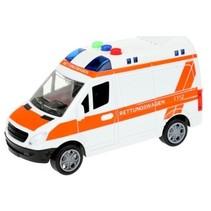 Duitse ambulance frictie met licht en geluid