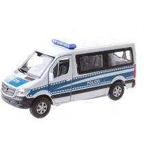 Welly Mercedes polizei 11,5 cm