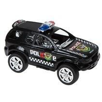Xtreme politieauto 13 cm zwart