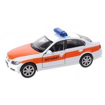 schaalmodel Nex BMW Notartz die-cast wit 11 cm