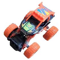 crossauto jongens 11,5 cm staal oranje