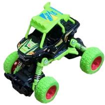 crossauto jongens 11,5 cm staal groen