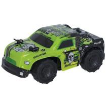 RC auto 4x4 15 cm 1:32 groen/zwart