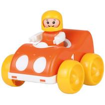 raceauto My First Racers junior 11 x 9,5 cm rood/geel