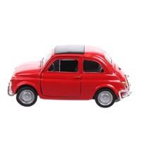 Fiat 500 rood 7 cm