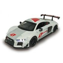 schaalmodel Audi R8 LMS 1:32 15 cm wit