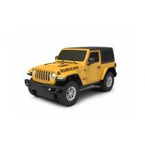 RC Jeep Wrangler JL jongens 27 MHz 1:24 geel