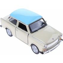 schaalmodel Nex Trabant die-cast 7 cm beige