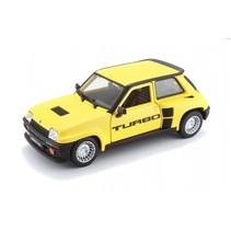 schaalmodel Renault 5 Turbo 1982 1:24 geel