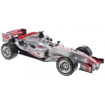 raceauto Super Max zilver licht en geluid