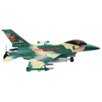 plafond vliegtuig Action Fighters met licht groen