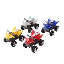 quads 4 stuks 6,5 cm