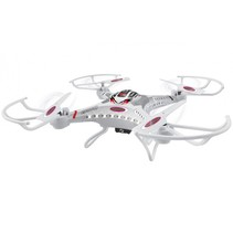 quadrocopter Catro HD Flyback Turbo 2,4 GHz 40 cm wit