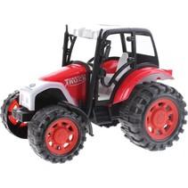 miniatuur Tractor rood