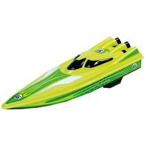 RC speedboat racer 2,4 ghz 38 cm groen