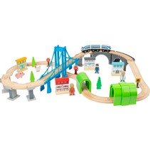 speelgoedtrein Bridge hout junior 24-delig