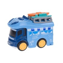 camper kampeerbus strandvakantie 9 cm blauw