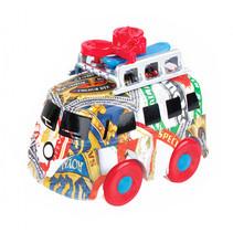 mini bus met fiets junior 12 cm