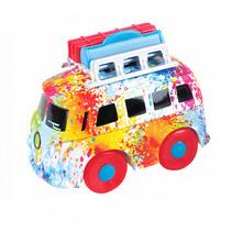 mini bus met koffer junior 12 cm