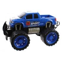 monstertruck Friction Power jongens 29,5 cm blauw