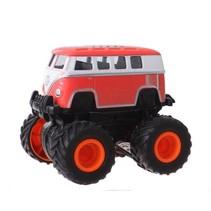 Monstertruck bus rood 8 cm