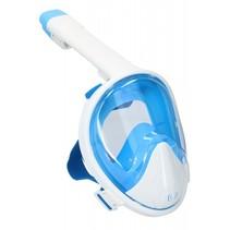 snorkelmasker full face junior wit