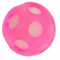 splashbal met spons 14 cm roze