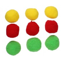 splashballen blauw/groen/rood 9 stuks