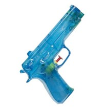 waterpistool blauw 19 cm