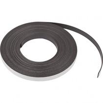 zelfklevende magneetband 12,5 mm / 1,5 mm zwart 1 meter