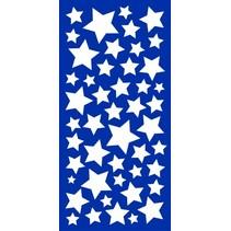 muurstickers sterren glow in the dark 15 x 31 cm