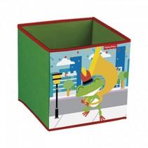 opbergbox kikker 31 x 31 x 31 cm groen