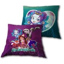 kussen Enchantimals paars/turquoise 35 x 35 cm