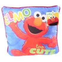 kussen Sesamstraat Elmo 30 cm
