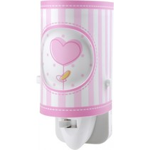 nachtlamp Sweet Light 13 cm roze