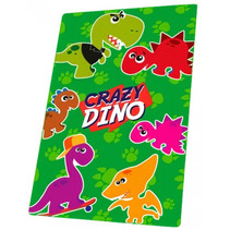 fleecedeken dino junior 100 x 150 cm polyester