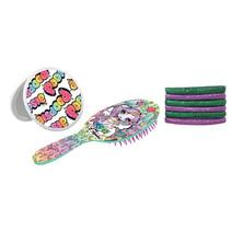 haarborstel met accesoires meisjes 3-delig