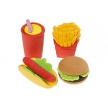 speelgoedeten Fastfood 4delig