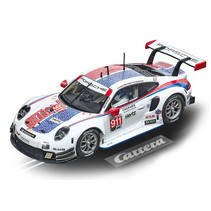 racebaanauto Evolution Porsche 911 RSR 1:32 wit