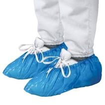 schoenhoezen 100 stuks blauw