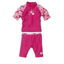 zwempak uv-werend meisjes roze