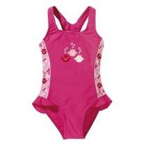 badpak uv-werend meisjes roze